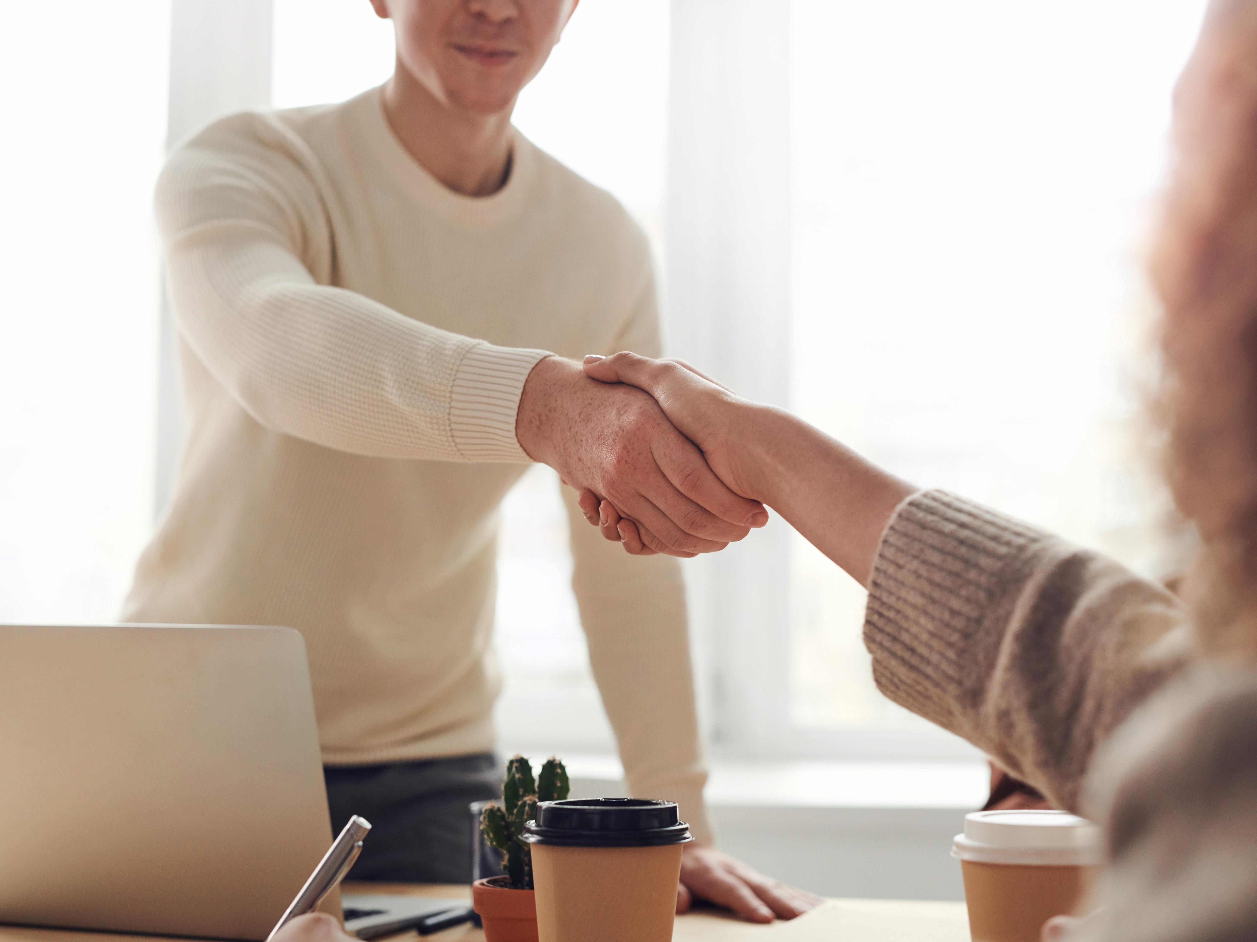 handshake duurzame verbinding in je bedrijf ormit 43